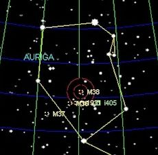 auriga the charioteer constellation Come to know constellation auriga's bright star capella and the little asterism called the kids.